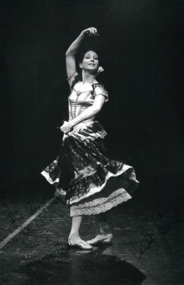 """hristl Zimmerl tanzt die """"Cachucha"""", 1969 Foto: Anonym © Privatbesitz"""