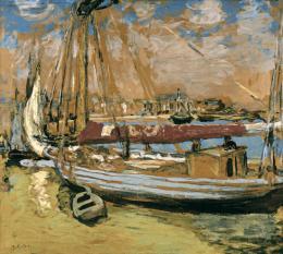 "Edouard Vuillard, 1868 – 1940, ""Le bateau de pêche"", 1908, Kunst Museum Winterthur"
