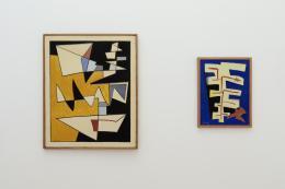 Erker, Installationsansicht Kunstmuseum St.Gallen, Foto: Stefan Rohner