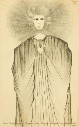 Josephine (Josy) H. (1868–1930)  Frau Grossherzogin Augusta, Josa, Theodora Taubstummer auf Friedrichshöh bei Wien, undatiert  Sammlung Königsfelden, CH, © PDAG, Windisch 8_JosyH.jpg