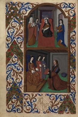 Christine de Pizan: Le Trésor de la cité des dames, Paris: Antoine Vérard, 1497 – © Österreichische Nationalbibliothek
