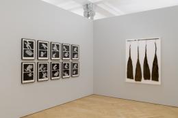 Geta Brătescu, Installationsansicht Kunstmuseum St.Gallen, Foto: Sebastian Stadler
