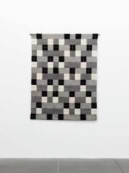 Anni Albers: Black White Gray, 1927 (Reproduktion, Gunta Stölzl, 1964); © VG Bild-Kunst, Bonn 2019. Foto: Neues Museum Nürnberg (Annette Kradisch)
