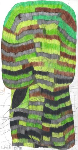 Laila Bachtiar, Ein Baum, 2008 (c) galerie gugging