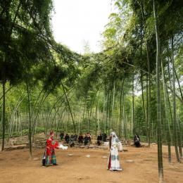 Bamboo Theater, Hengkeng Village; Photo: Wang Ziling