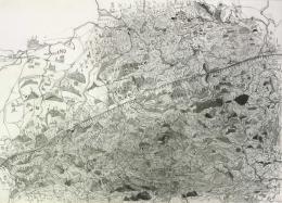 Leonhard Fink, Meine Landkarte von Österreich, 2010 © galerie gugging