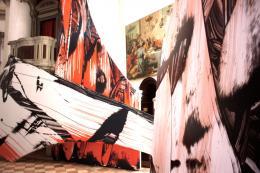 Judy Millar: Installationsansicht Biennale di Venezia, 2009