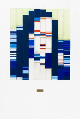 KP Brehmer: Mona (Lisa) für Paul (Klee), 1985. Dispersion auf Leinwand, 180 x 120 cm. KP Brehmer Sammlung und Nachlass, Berlin; © VG Bild-Kunst, Bonn 2018. Foto: Roman März