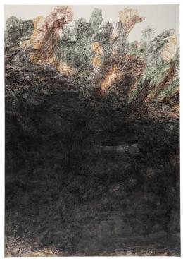 Rafet Jonuzi: Schöpfung Nr. 2; Zeichnung