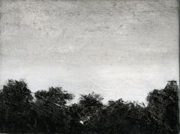 Untitled, 2018. Oel auf Holz, 15 x 20 cm