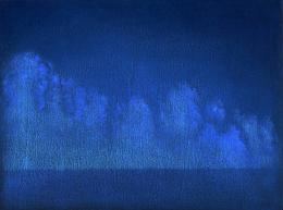 Untitled, 2018. Oel auf Holz, 15x 20 cm