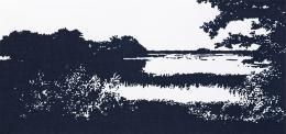 Untitled, Farbstift auf Papier, 2010. 32 x 62 cm; Foto Gerhard Kassner