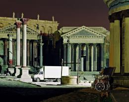 """Rome""-Filmset, Cinecittà-Studios, Rom, Italien, 2006 © Alfred Seiland"