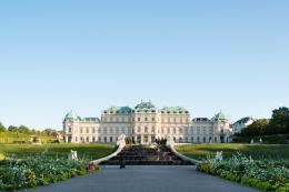 Außenansicht Oberes Belvedere, Foto: Lukas Schaller / Belvedere, Wien