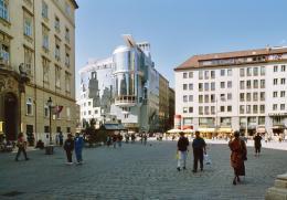 Hans Hollein, Haas-Haus, Wien, AT, 1985–1990 (c) Architekturzentrum Wien, Sammlung, Foto: Friedrich Achleitner