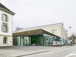 Aargauer Kunsthaus, Aarau, Aussenansicht, Foto: Georg Aerni, Zürich