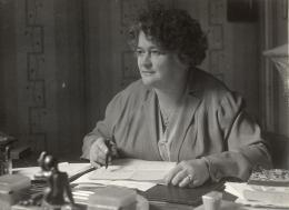 Adelheid Popp um 1930 – © Österreichische Nationalbibliothek