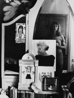 Helga Paris: Selbst im Spiegel, 1971; Foto © Helga Paris. Quelle: ifa (Institut für Auslandsbeziehungen)