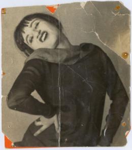 Valeska Gert, ca. 1925; Fotograf unbekannt