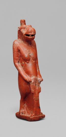 Göttin Thoeris (Ipet), Ägyptisch, Spätzeit, 7.-6. Jh. v. Chr., Kunsthistorisches Museum Wien, Ägyptisch-Orientalische Sammlung © KHM-Museumsverband