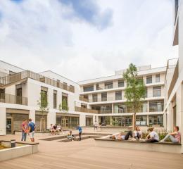 AHS Wien West, Architektur: Shibukawa Eder Architects, F P Architekten – Wien, Foto: © Hannes Buchinger