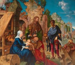 Anbetung der Könige, 1504, Öl auf Holz Florenz, Gallerie degli Uffizi © Gabinetto Fotografico delle Gallerie degli Uffizi