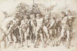 Bacchanal mit Silen, 1494, Feder in Braun © Albertina, Wien
