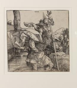 Albrecht Dürer: Der heilige Christophorus, 1511. Foto: Stefan Rohner