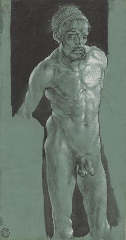 Selbstbildnis als Akt, um 1499 , Weimar, Klassik Stiftung © Klassik Stiftung Weimar