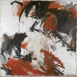 """Alfons Schilling, """"Ohne Titel"""", 1961, Dispersion auf Leinwand Albertina, Wien. Sammlung Essl © Alfons Schilling"""