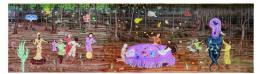 Alle meine Künste, Wandfries aus Keramik, 2013 © Jüdisches Museum Wien / Foto: Fuhrer,Wien