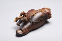 Altägyptische Zehenprothese, frühes bis mittleres Jahrtausend v. Christus, Nationalmuseum für Ägyptische Kultur in Kairo, Foto: Universtität Basel Matjas Keclcnik