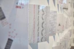Joy in Paperwork: The Archive (2016), Installationsansicht The New Art Gallery Walsall, 2019. Courtesy die Künstlerin, König Galerie, Berlin, und Herald St, London.