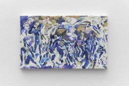 Installationsansicht, Blick auf Megan Francis Sullivan, Study of Bathers, 1902, Private Collection (Inverted), 2017, Kunsthalle Basel, 2020. Foto: Philipp Hänger / Kunsthalle Basel