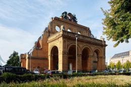 Portalruine am Anhalter Bahnhof © Stiftung Exilmuseum Berlin, Foto: René Arnold