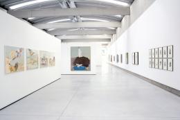 Siegfried Anzinger / Hans Fronius, Ausstellungsansicht © Museum Liaunig / die Künstler