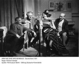 Arm wie eine Kirchenmaus (Richard Oswald, D 1931)