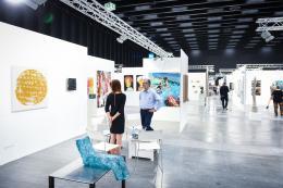 Impression von der bislang 2019 letztmals durchgeführten Art Bodensee (© Udo Mittelberger/ Art Bodensee)