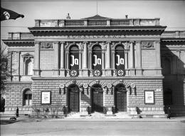 Wien 1, Künstlerhaus, 1938  Fotografie Österreichische Nationalbibliothek, Bildarchiv und Grafiksammlung © Österreichische Nationalbibliothek
