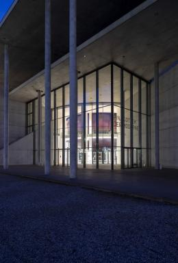 "Ausstellungsansicht, Anish Kapoor, ""Howl"", 2020, Material: PVC Foto: Haydar Koyupinar © Anish Kapoor, DACS/VG Bild-Kunst, Bonn 2020"