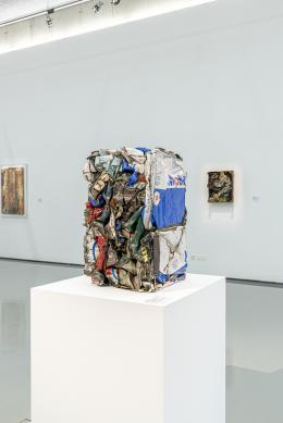 """Ausstellungsansicht """"Antworten auf die Wirklichkeit"""" © Raffael F. Lehner"""