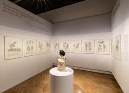 Ausstellungsdokumentation Arik Brauer (c) wulz.cc