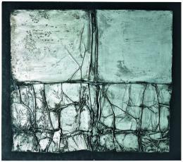 Christo, Surface d'empaquetage, 1961 Foto © mumok - Museum moderner Kunst Stiftung Ludwig Wien, ehemals Sammlung Hahn, Köln