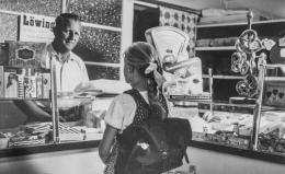 Bäckerei Stadler in Kindberg, 1963,  Foto: Johann Wurzinger, Privatbesitz Johann Wurzinger