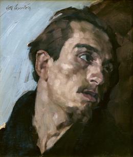 Lotte Laserstein, Kopf eines jungen Mannes, um 1926, Privatbesitz, Bild: Lotte-Laserstein-Archiv/ Krausse, Berlin © VG Bild-Kunst, Bonn 2019