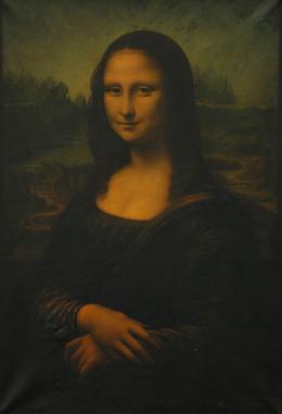 Louis Béroud, La Joconde d'après Léonard de Vinci, 1911, Öl auf Leinwand, Kunstmuseum Luzern