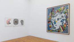 Arbeiten von Chiharu Shiota u. Gert & Uwe Tobias © allerArt: Erhard Sprengel