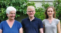 Das Artennen Team - Hildegard, Helmut und Sarah Schlatter