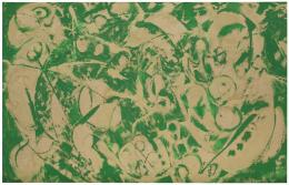 Lee Krasner, Siren, 1966, Öl auf Leinwand, 128.6 x 206.1 cm, Hirshhorn Museum and Sculpture Garden, Smithsonian Institution,, Washington, DC, The Joseph H. Hirshhorn Bequest, 1981, 86.2768, Foto: Cathy Carver, Hirshhorn Museum and Sculpture Garden © The Pollock-Krasner Foundation