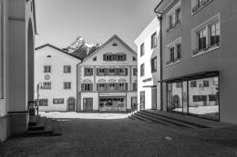 """Manfred Schlatter, """"Schruns"""", SW Fotografie, 2020 © Manfred Schlatter"""